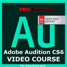 Audition Tutorials CS6 Training Course PRO Lessons Skills