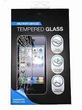 4 x Merkury Innovations Military Grade Tempered Glass for Apple iPhone 4/4s