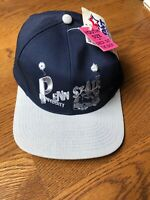 Vintage 90s Deadstock Youth Penn State Nittany Lions NCAA Snapback Hat Baseball