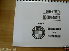 P0020 PUCH---ONDERDELEN DOCUMENTATIE---SKYHUNTER + SKYTRACK-MODEL