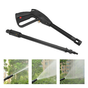 For Car Jet Lance Wash Nozzle High Pressure Washer Spray Gun Washing Hose Kit