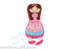 BALLERINA Novelty Filled Cushion by Cubby House Kids *NEW*