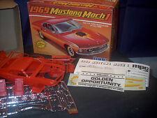 Model Kit 1969 Mustang Mach 1