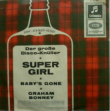 """7"""" 1966 REAL KULT ! GRAHAM BONNEY : Super Girl / VG+?"""