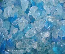 "25 Lbs BAHAMA MIX FIREGLASS ~3/8-1/2"" Fireplace Glass Gas Fire Pit Glass  Rocks"