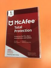 McAfee Total Protection 2018 1 Device 3 Years Subscription Worldwide Activation