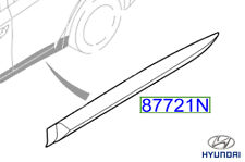 Genuine Hyundai Ioniq Hybrid Moulding Waist Line Rear Door LH 2016 - 87721G2000