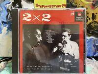 TWO BY TWO (2 X 2) RUBY BRAFF & ELLIS LARKING PLAY RODGERS & HART CD! MINT!