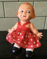 """VTG '52 COLGATE-PALMOLIVE Fab Incline Walking Doll 6"""" Hard Plastic Side Glancing"""