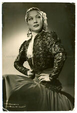 CARMEN AMAYA - Original Vintage SIGNED Photograph by ANNEMARIE HEINRICH 1950's