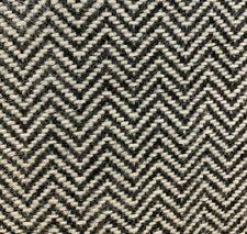 DESIGNTEX WOOL HERRINGBONE UPHOLSTERY FABRIC BUTE LEWIS IN CHICKDEE 5.5 YARDS