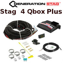 Autogas kit for 4 cylinders ECU STAG QBOX Plus with wiring loom