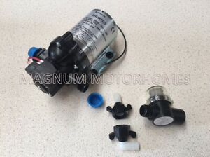 Shurflo 30PSI Water Pump - Including Filter -2095-403-443 Caravan/Motorhome/Boat