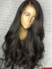 Touched by Tim natural dark brown 100 % human hair wig