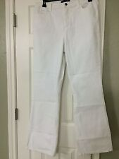 16 Not Your Daughter Jeans NYDJ Optic White Bootcut Denim W/ Crystal