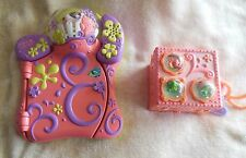 Littlest Pet Shop Toys-Paws Off Electronic Diary & Teeniest Folding House