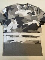 American Rag Cie New Storm Grey Camo Short Sleeve T-Shirt Men's Size Medium