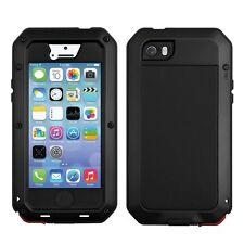 Aluminum Gorilla Glass Metal Waterproof Case Cover For iPhone 6 6S/5S/4S/5C Plus
