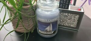 🦋 Yankee Candle Life's A Breeze Large Jar 2018 Pour 🦋
