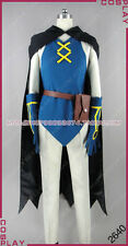 Pokemon Pocket Monster Lucario and the Mystery of Mew Sir Aaron Cosplay Costume