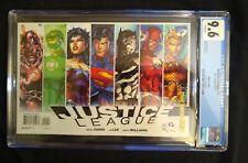 Justice League #1 CGC 9.6 DC Comics 2012 8th print  variant Jim Lee