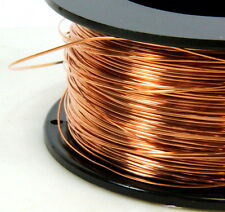 Copper Wire, 22 Gauge, Dead Soft, Copper Jewelry Wire, Craft Wire, 20 Feet, 008