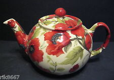 1 Heron Cross Pottery Poppy Chintz 3 English Cup Tea Pot or 2 mugs