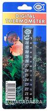 Fish TankDigital Thermometer Aquarium - stick on Celcius/Farenheit, easy Unipet
