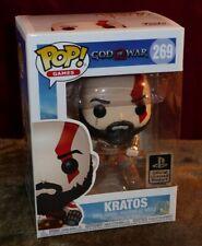 Funko Pop KRATOS God Of War Vinyl Figure #269 Sony PlayStation Official Product