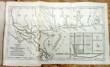 Original 1772 map WEST FLORIDA Shows ALABAMA Louisiana MISSISSIPPI Florida TEXAS