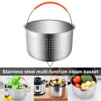 3 Sizes Stainless Steel Steamer Basket Drain Basket Pressure Cooker For Kitchen
