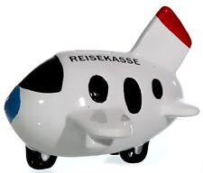 Flugzeug Spardose Reisekasse Sparschwein Geldgeschenke Geschenk reisen Urlaub