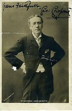 George GROSSMITH (Actor): Signed Photograph Postcard