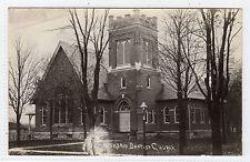 BAPTIST CHURCH, ALEXANDRIA: Ohio USA postcard (C6370).