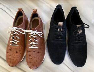 Cole Haan ZEROGRAND Wingtip Oxford Men's Shoes 10.5 M Lot 2X