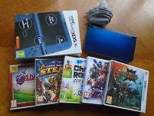 New Nintendo 3DS XL Metallic Blue With Games Bundle