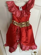 Disney Elena Of Avalor Costume And Sceptor Girls Size 4