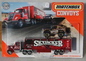 Matchbox MBX Convoys Lonestar Cab & Box Trailer + Ford Bronco FNQHotwheels FM148