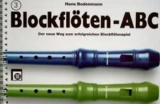 Blockflöte Noten Schule : Blockflöten ABC Heft 3 (Bodenmann)  - B-WARE