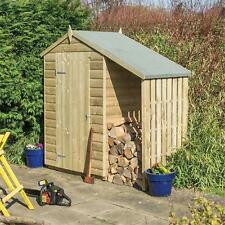 Rowlinsons 4x3 Oxford Shed with Lean to