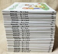 Set 24 MONCURE MY FIRST STEPS TO READING Children's Books Grolier 1991 Missing F