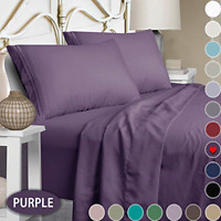 Mejoroom Bed Sheets Set,Extra Soft Luxury Queen Size Sheets with 15-inch Deep -