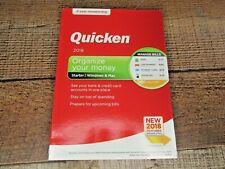 Quicken Starter 2018 Organize Your Money Windows & Mac 2 year membership