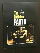 The Godfather Part 2 Movie Souvenir Book Quality Al Pacino