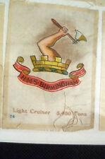 B.D.V. Cigarettes Silk- HMS BIRMINGHAM Light Cruiser 5,400 Tons (7x5 cm)