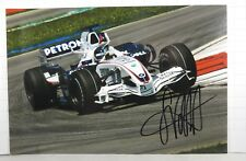 PHOTO cm13x19 signed by Sebastian Vettel BMW SAUBER F1.07 FP1 MALAYSIAN GP 2007