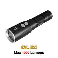 Nitecore DL20 LED 1000 Lumens Underwater Sport Diving Light Flashlight Torch