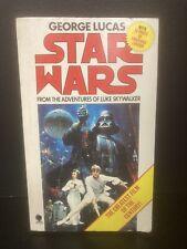 Star Wars From the Adventures of Luke Skywalker Paperback 1977 1st UK Edition