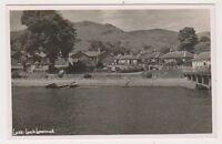 Dunbartonshire postcard - Luss, Loch Lomond - RP