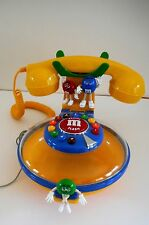 M&M Talking/ Ringing Corded Telephone Phone & Candy Dispenser